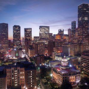 休士頓夜景